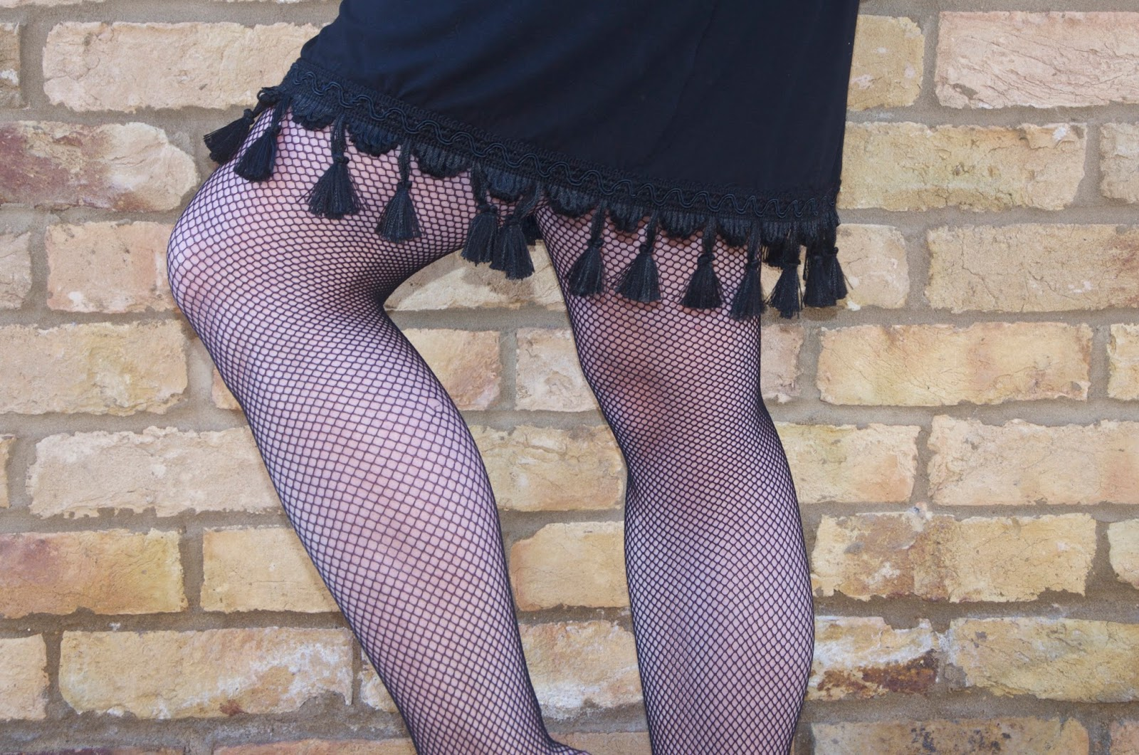 tassels and fishnets