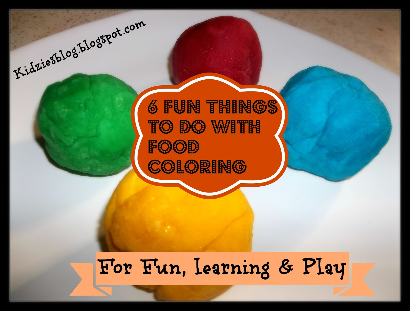 Kidzies : 6 Fun Things To Do With Food Coloring
