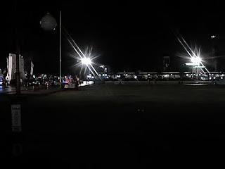 alun alun batang malam hari