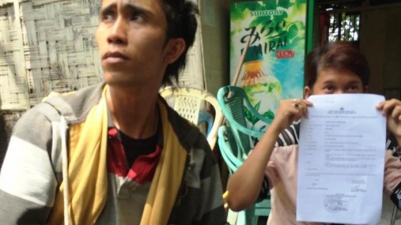 2 korban penganiayaan dan pelecehan yang dilakukan polisi saat mendatangi Mapolda Sumut