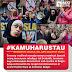 Ada demo anti Islam di Beglia, muslimah ini justru selfie