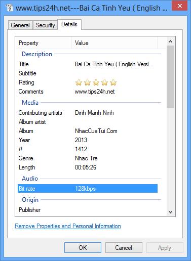 Cách làm tăng chất lượng file mp3 lên 320kps