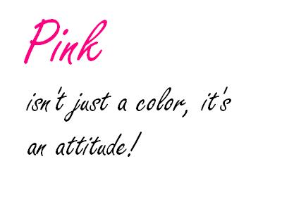 Pink Color Quotes