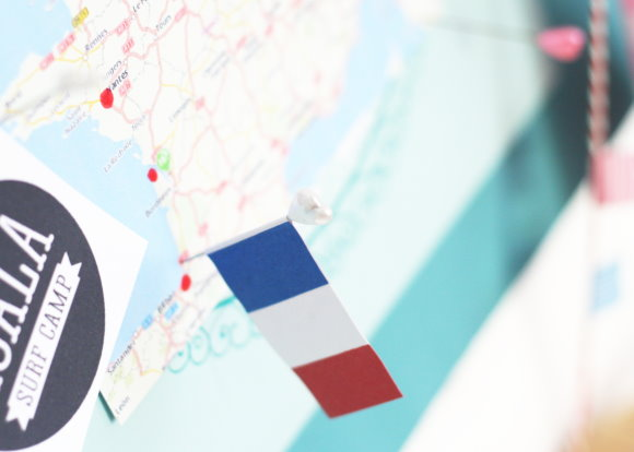 Planning our road trip to france - DIY Mood board