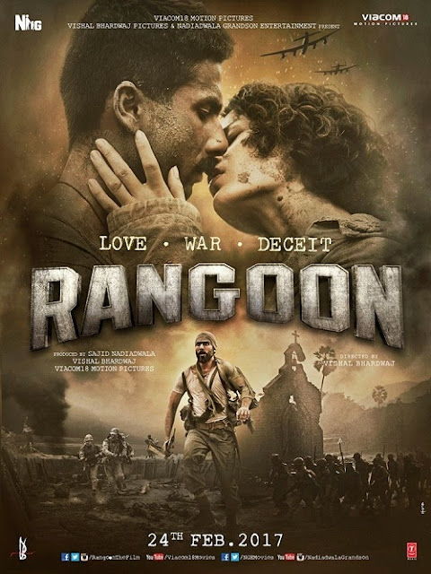 Rangoon (2017) Hindi Pre-DvdRip