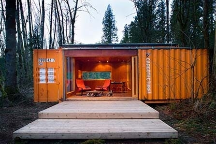 A Simple Shipping Container Home