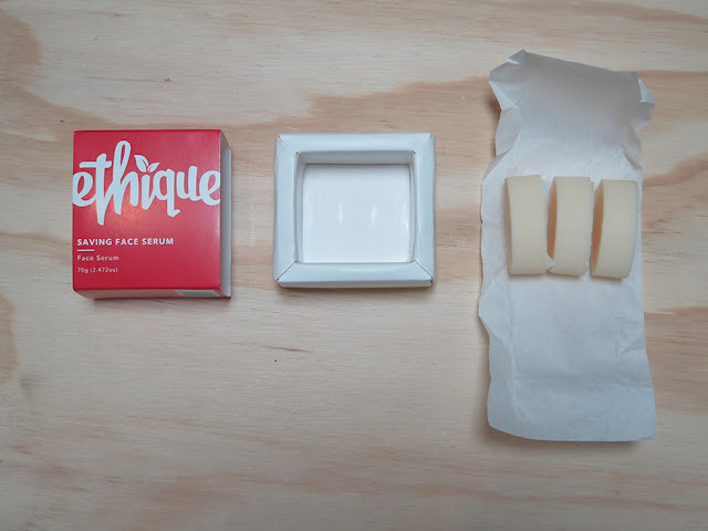 Ethique's solid beauty bars with plastic-free packaging