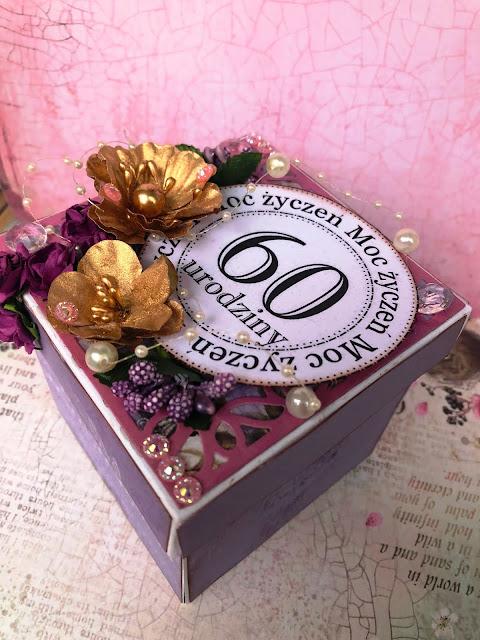 Exploding Box na 60 Urodziny