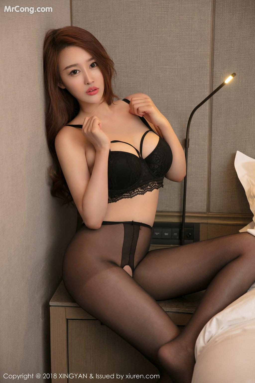 Image XingYan-Vol.052-Jin-Yu-Xi-MrCong.com-005 in post XingYan Vol.052: Người mẫu Jin Yu Xi (金禹熙) (37 ảnh)