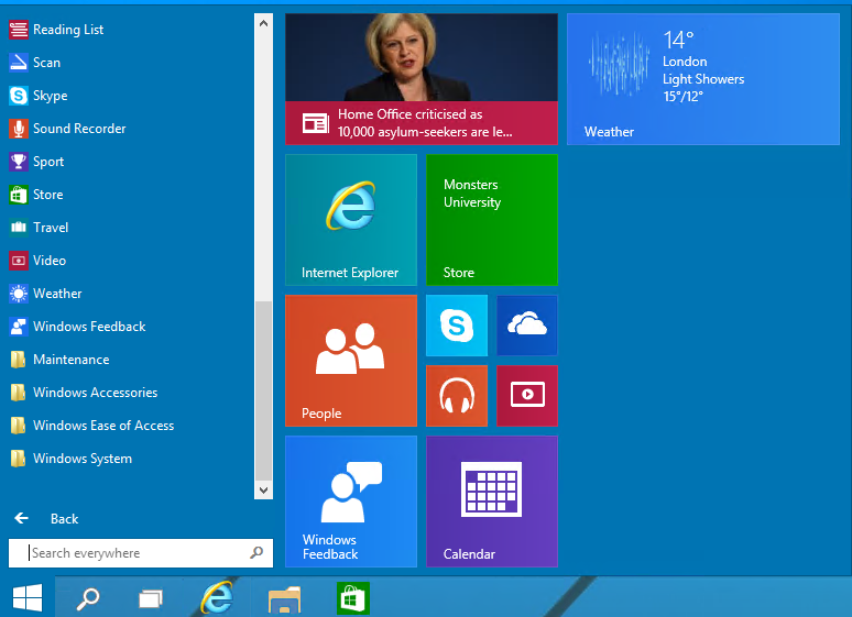 Top 5 Features in upcoming Windows 10 version | E Gadgets Info