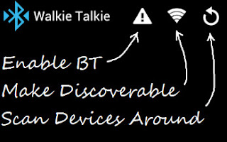 bluetooth walkie talkie app