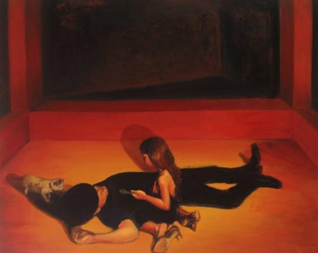 Французско-алжирская художница. Sarah Haddou