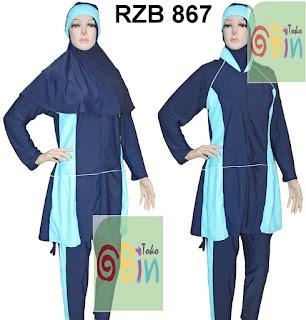 baju renang muslimah syari RZB 867