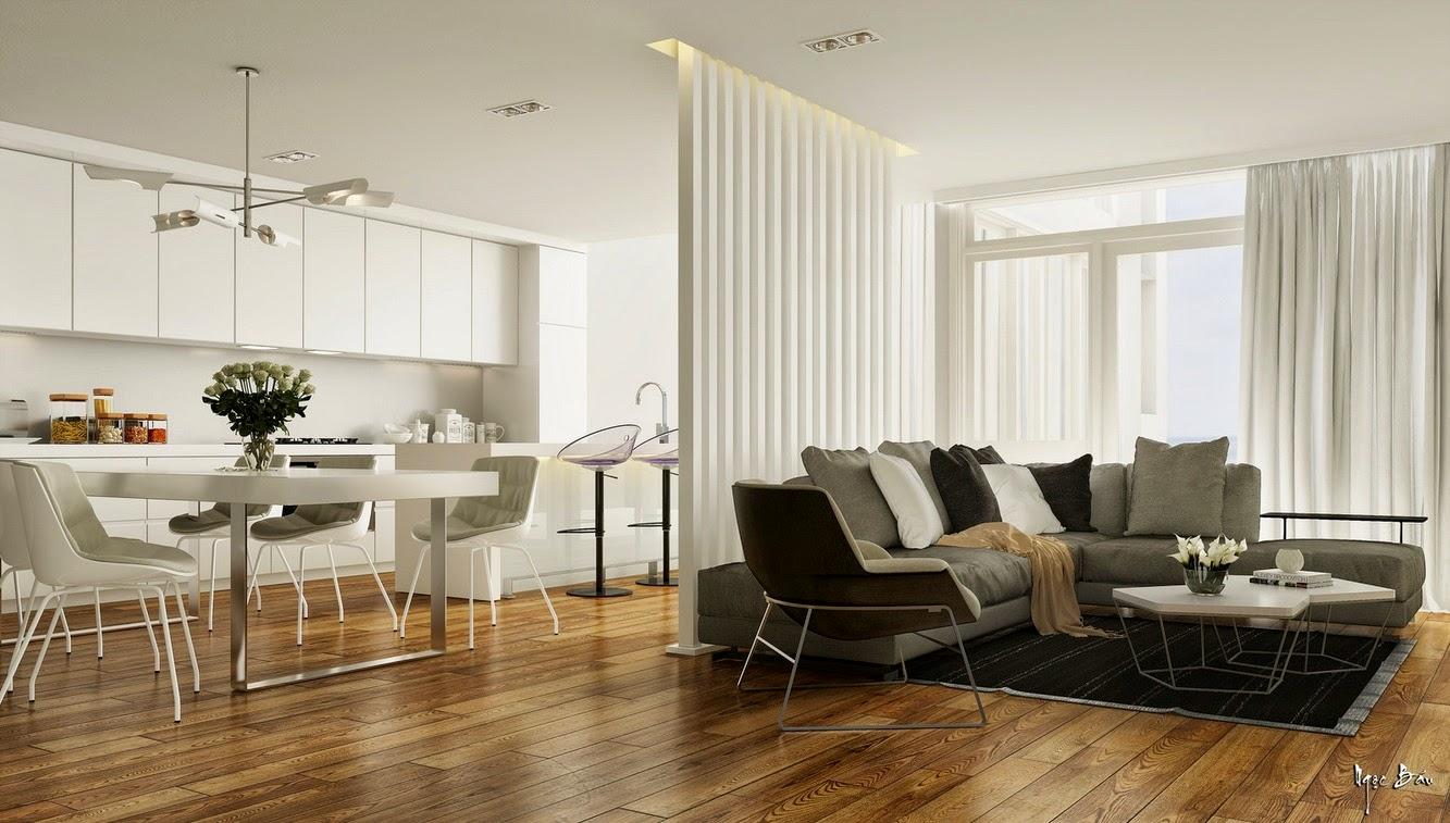 Hogares frescos dise o de interiores con acentos - Interiores rusticos de casas ...
