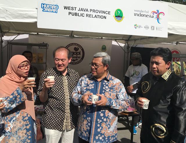 Kopi Jabar Jadi Primadona di 2nd Indonesia Week 2018 Nagoya