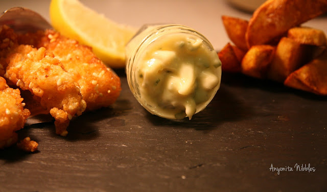 Marcello Tully of Kinloch's Rice Krispies Fish Fingers with Tangy Mayo