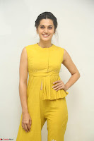 Taapsee Pannu looks mesmerizing in Yellow for her Telugu Movie Anando hma motion poster launch ~  Exclusive 116.JPG