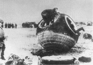 Recuperación de la cápsula Korabl-Sputnik