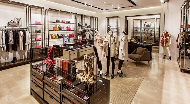Lojas de roupas de luxo em Miami