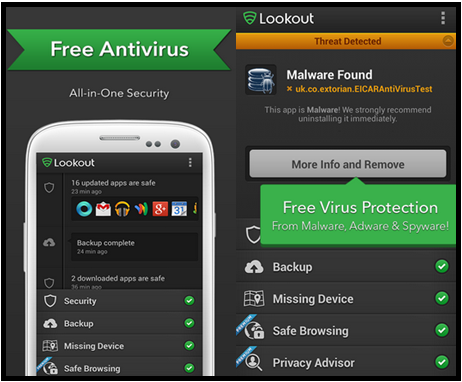 Lookout Launched Antivirus And Security App With AT&T