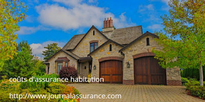 coûts d'assurance habitation