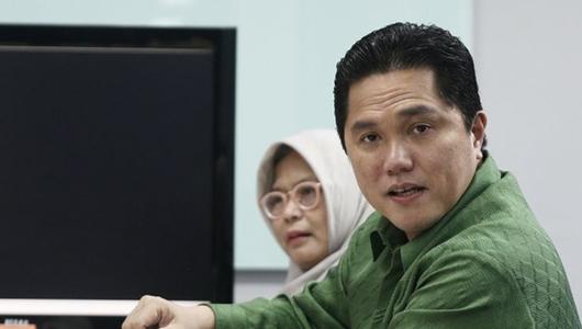 Ma'ruf Amin Lebih Banyak Diam, Erick Thohir: Bagian dari Strategi Kami