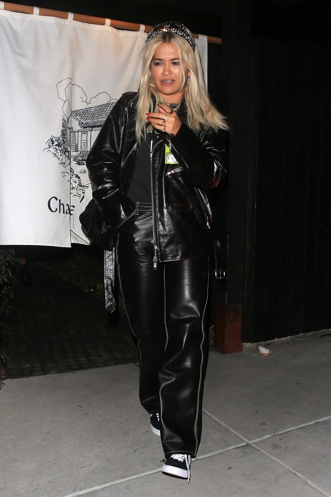 Rita Ora - at Chateau Hanare sushi restaurant in Los Angeles - 01/21/2019
