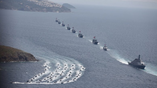 """Οι Τούρκοι αρχίζουν να """"κλείνουν"""" περιοχές στο Αιγαίο με την """"μέθοδο"""" των προασκήσεων"""