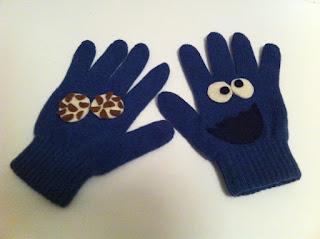 kurabiye canavarı mavi eldiven satın al