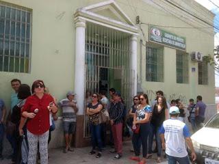 Greve em  cidade da Paraíba mostra que a situação se tornou grave