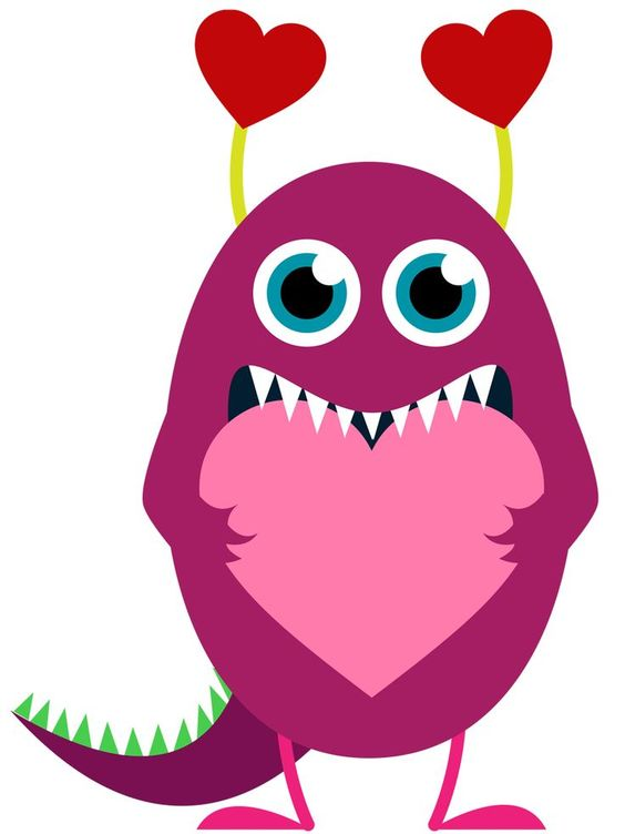 heart monster valentines day
