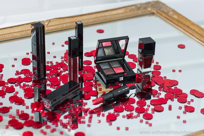 colección de maquillaje Otoño 2018 Givenchy Midnight Skies rojo lentejuela