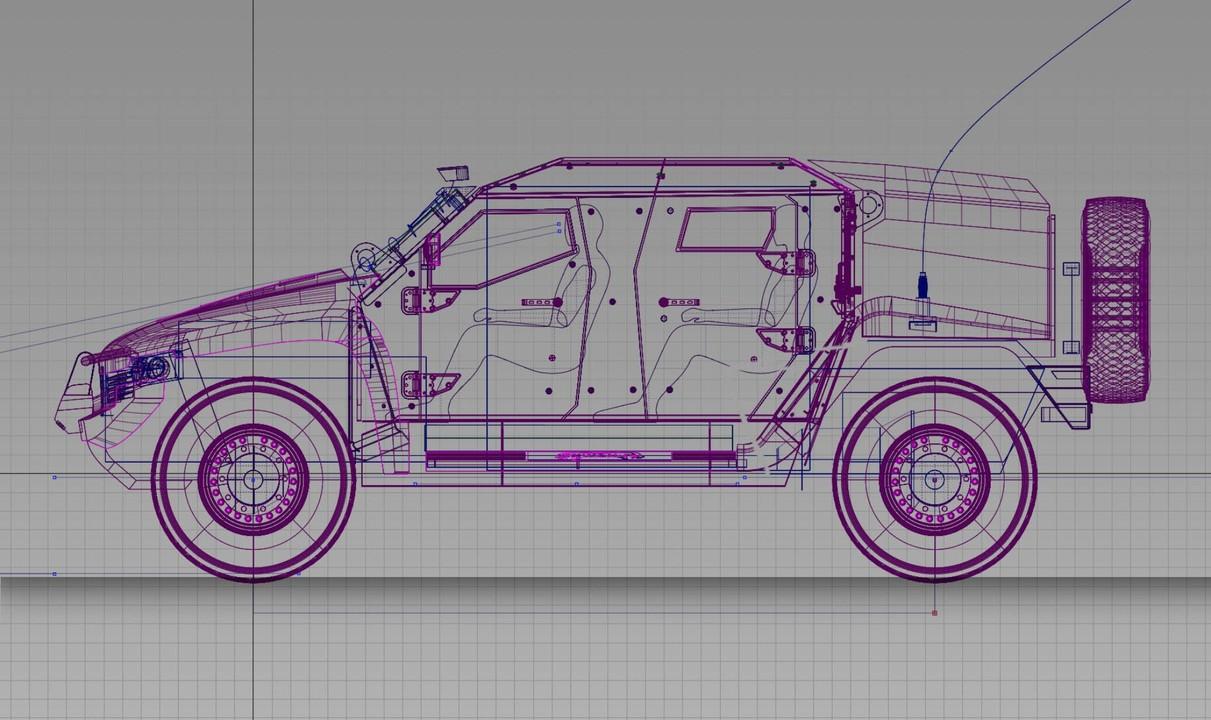 дизайн броньованих автомобілів