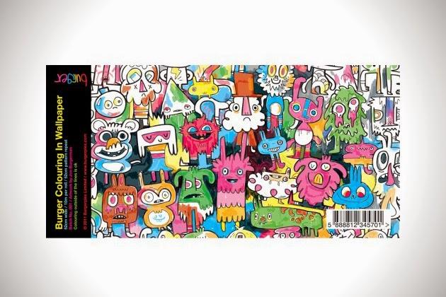 variedad de dibujos diseñados