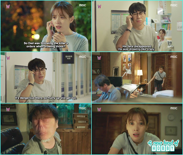 Yeon Talk to Soo bong about her father stolen face - W - Episode 11 Review