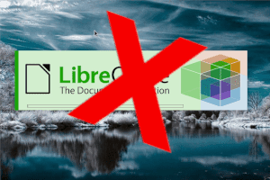 Desabilitando  o  splash - logo  do  Libreoffice