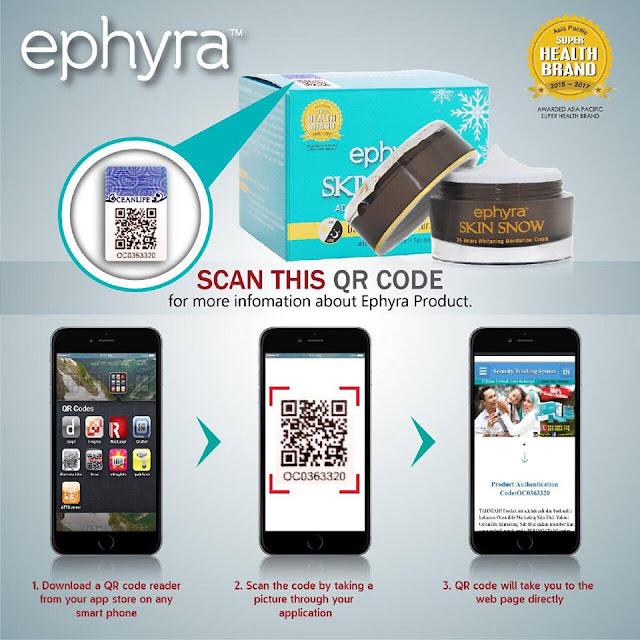 Ephyra Skincare Series Dari Bahan Semulajadi Baik Untuk Kulit