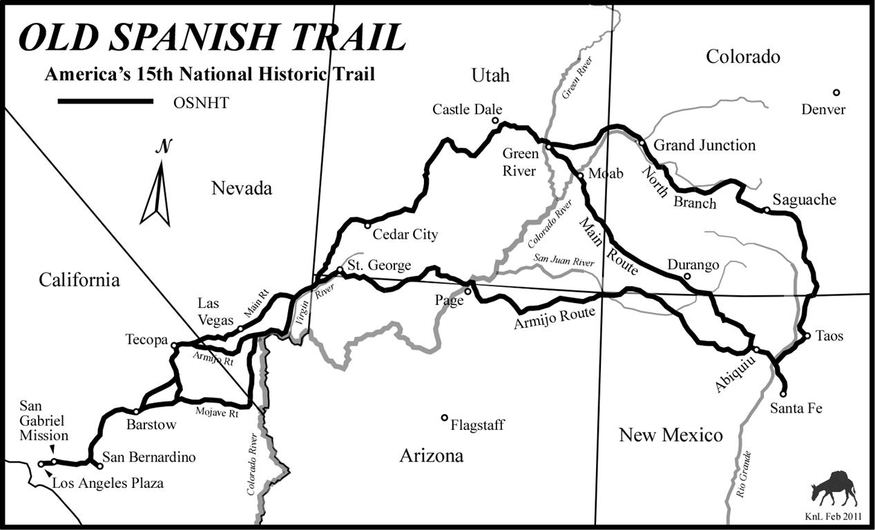 The Old Spanish Trail Documentation Project The Old