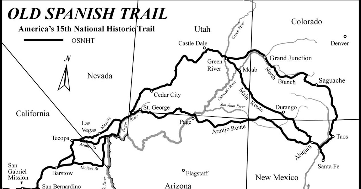 The Old Spanish Trail Documentation Project: The Old