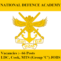 National Defence Academy, NDA Pune, NDA, freejobalert, Sarkari Naukri, NDA Answer Key, Answer Key, nda logo