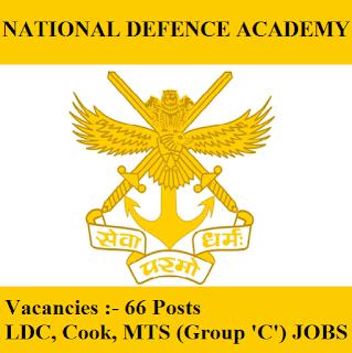 National Defence Academy, NDA, Maharashtra, Force, Group C, 10th, LDC, MTS, Cook, Clerk, freejobalert, Sarkari Naukri, Latest Jobs, nda logo
