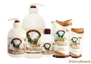 Rahasia kulit putih halus dan sehat dengan Velvy Goat's Milk Shower Cream Licorice & Shea Butter