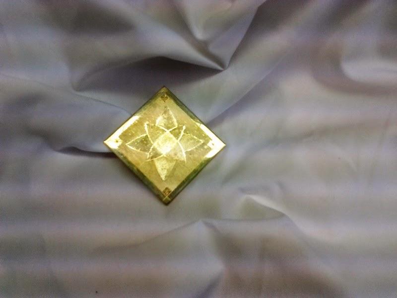 Oxidación en oro y plata de ley. Manuela Gómez Soria