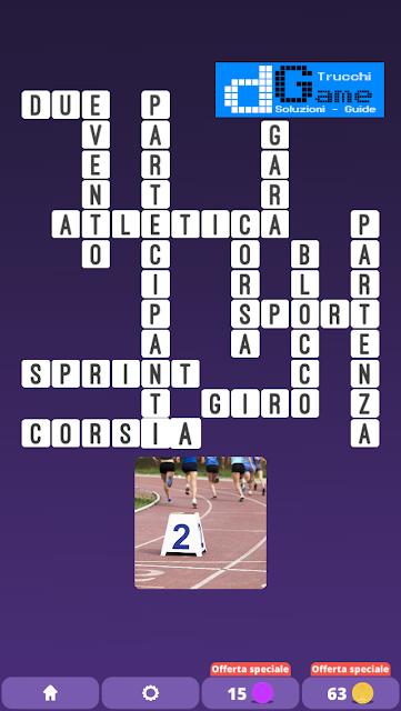 Soluzioni One Clue Crossword livello 26 schemi 6 (Cruciverba illustrato)  | Parole e foto
