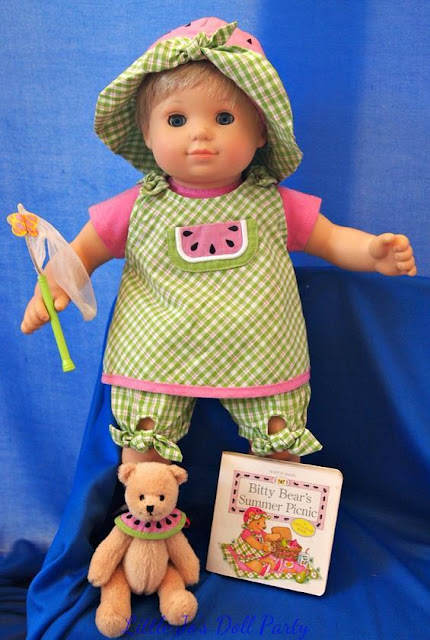 Bitty Baby Picnic outfit.