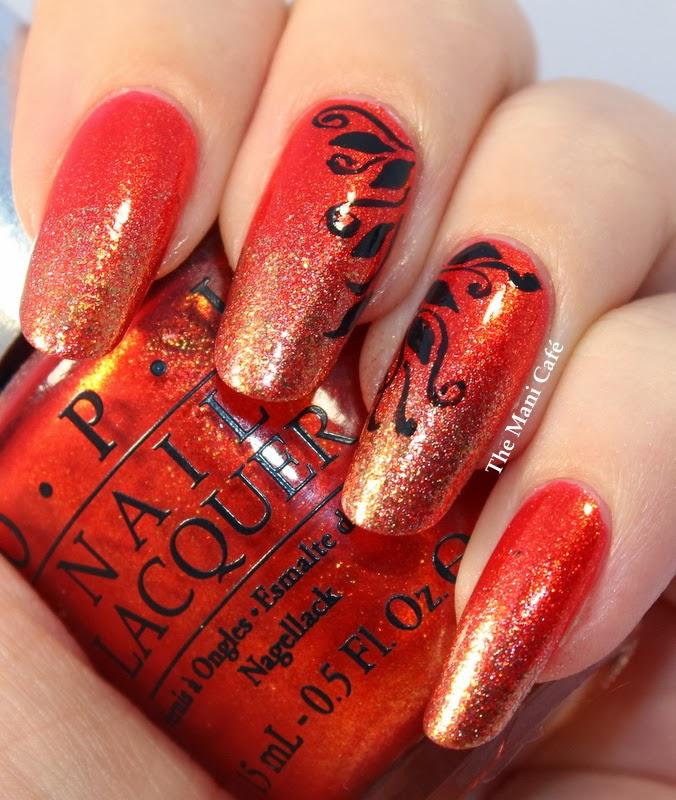 Diy Autumn Gradient Nail Art: The Mani Café: Autumn Week