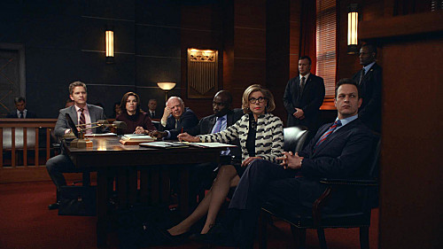 The Good Wife S05E13. Parallel Construction, Bitches