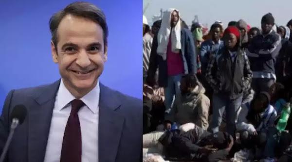 """Μητσοτάκης για μετανάστες: """"Θα απολαύσουν ως συμπολίτες μας, μόνιμη διαμονή στην Ευρώπη""""! (Βίντεο)"""