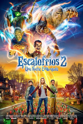 Goosebumps 2 Haunted Halloween 2018 Custom HD Dual Latino Line
