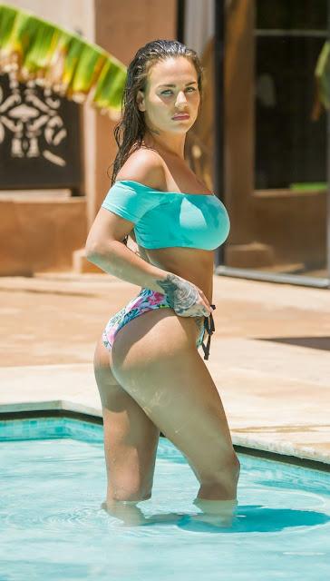 Chantelle Connelly in Bikini in Morocco